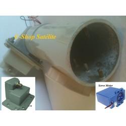Alimentador Turbinado Multipolar Linear/Circular com LNB Banda C
