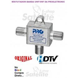Misturador em linha UHF/VHF TV Local - PROELETRONIC