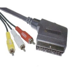 CABO DE VIDEO SCART 3R CAM LEADERSHIP