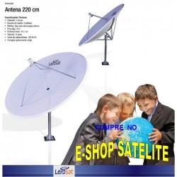 Antena Fibra de Vidro 220 CM LERO-SAT