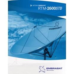 Antena  Fibra de Vidro 260 CM EMBRASAT