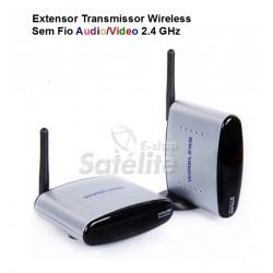 Extensor PAT-220 2.4GHz   Wireless sem Fio A/V  - Extensor  IR: 1 PONTO