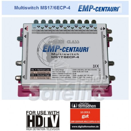 Multiswitch MS17/6ECP-4 Emp Centauri