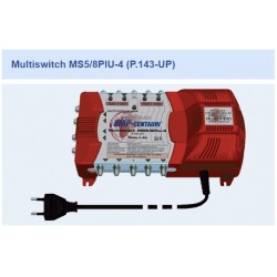Chave Multiswitch MS5/8PIU-4 (p.143-UP) - Emp-Centauri