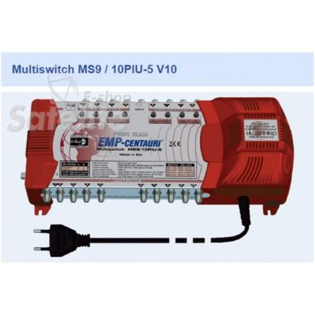 Chave Multiswitch MS9/10PIU-5 V10 - Emp-Centauri