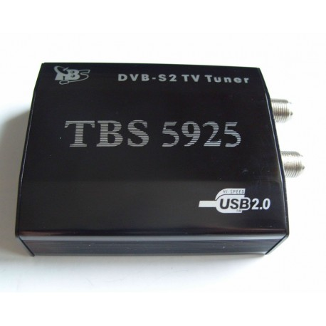Sintonizador TBS 5925 de TV USB DVB S2 Rede e Satélite