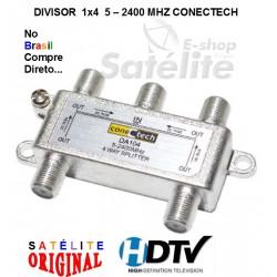 DIVISOR 1X4  5 - 2400 MHZ CONECTECH