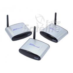 Extensor PAT-220 2.4GHz Wireless sem Fio A/V - Extensor IR: 2 PONTOS