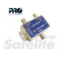 Misturador VHF + UHF PQMB-2300