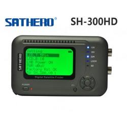 SATFINDER SATHERO SH-300 Satélites DVB-S, DVB-S2 HD