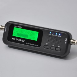 SATFINDER SATHERO SH-100HD Satélites DVB-S, DVB-S2
