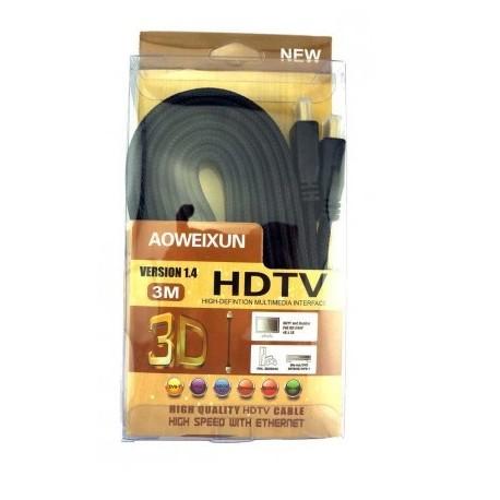 Cabo HDMI para HDTV  2,0 Metros