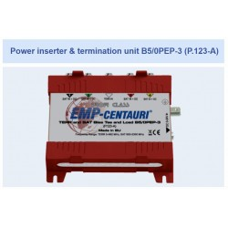 Alimentação de energia e unidade de terminação B5/0PEP-3 (P.123-A) - Emp Centauri