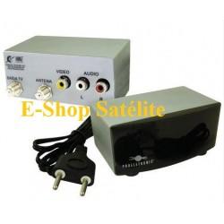 Modulador Áudio/Vídeo PROELETRONIC Mod. PQMO-2200.