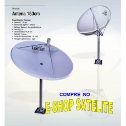 Antena Fibra de Vidro 150 CM LERO-SAT
