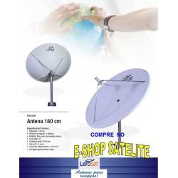 Antena Fibra de Vidro 180 CM LERO-SAT