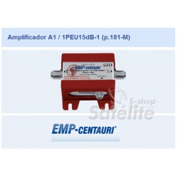 AMPLIFICADOR A1/1PEU15dB-1 EMP CENTAURI