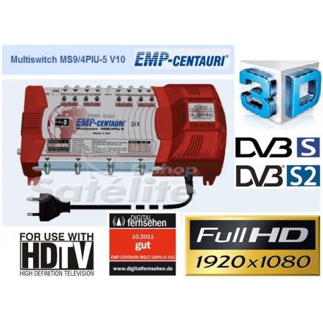 Chave Multiswitch MS9/4PIU-5 V10