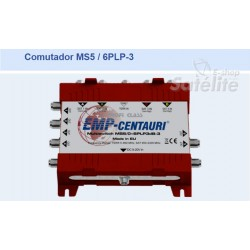 Chave Multiswitch MS5/6PLP-3 - Emp-Centauri
