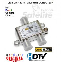 DIVISOR 1X2  5 - 2400 MHZ CONECTECH