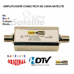 AMPLIFICADOR CONECTECH LINHA SATELITE 950 - 2400 Mhz