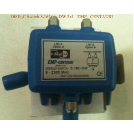 DiSEqC Switch S.162-DW 2x1 EMP CENTAURI