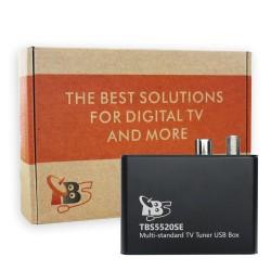 Sintonizador TBS5520SE Multi-standard Universal TV Tuner USB Box