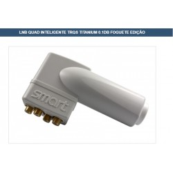 LNBF QUAD KU H/L H/H V/H V/LSMART TRT Titanium Rocket Edition 0,1dB