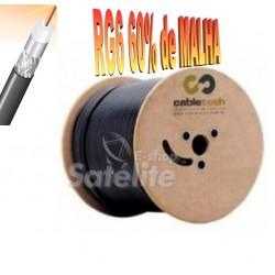 CABO COAXIAL CABLETECH RG6 60% BOBINA 300 M