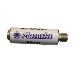 Pré-amplificador para UHF 15dB - Manata PR-101